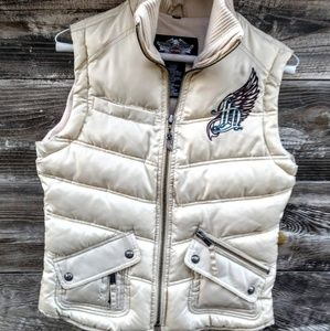 Harley Davidson Women's Puffer Vest